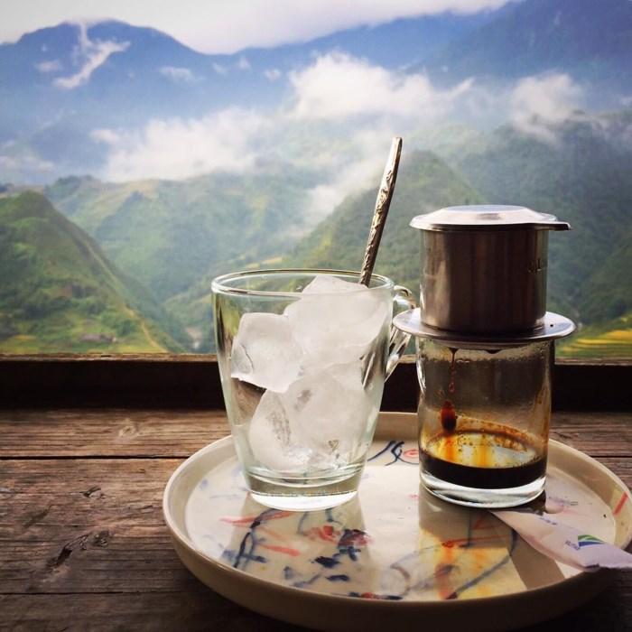 Cafe lãng đãng giữa Sapa