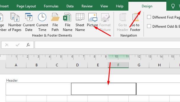 Header & Footer in Microsoft Excel