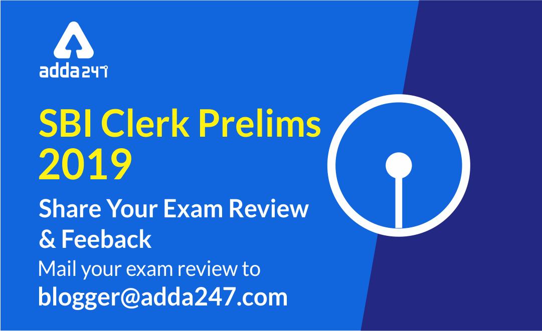 SBI Clerk Exam Analysis 2019: How was your exam? | 23 June, Shift 4