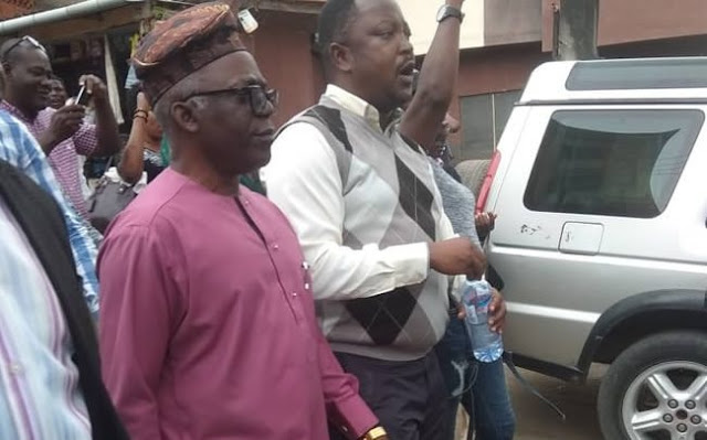 Revolution: Falana kicks as Security operatives take over CDHR, SaharaReporters