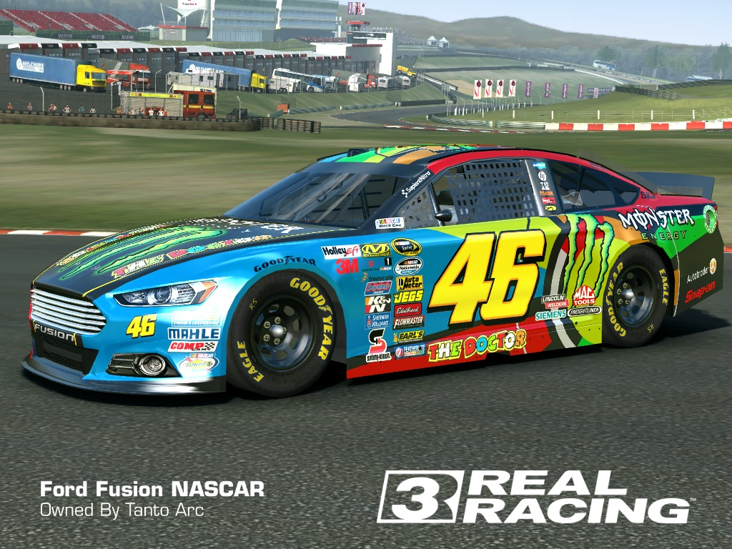 2015 ford fusion nascar skin monster 46 ford fusion nascar hd livery by tanto arc