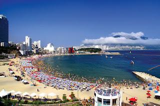 Suasana Haeundae Beach