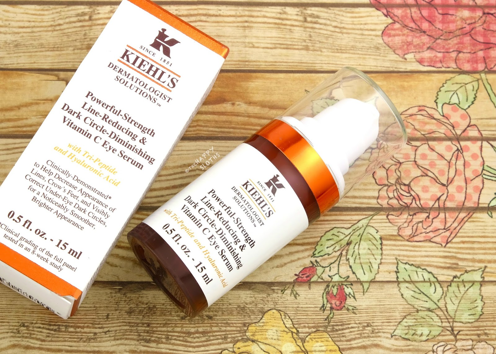 Kiehl's | Powerful-Strength Line-Reducing & Dark Circle-Diminishing Vitamin C Eye Serum: Review