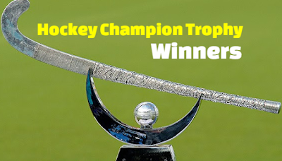 Hockey Champions Trophy, previous,  Winners, Teams,  history,  by Year, list.