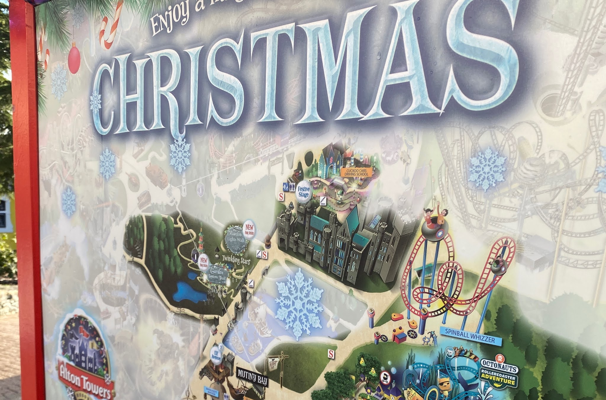 Christmas at Alton Towers