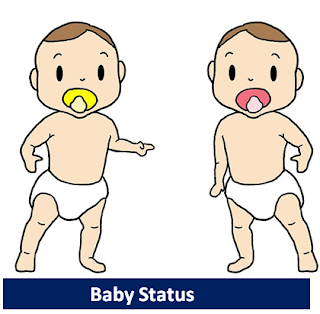 cute baby status for whatsapp, facebook