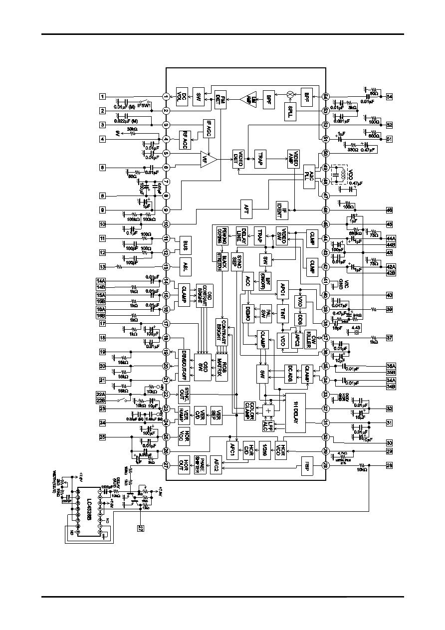 Ilmu Bengkel: skema IC LA 76810 A