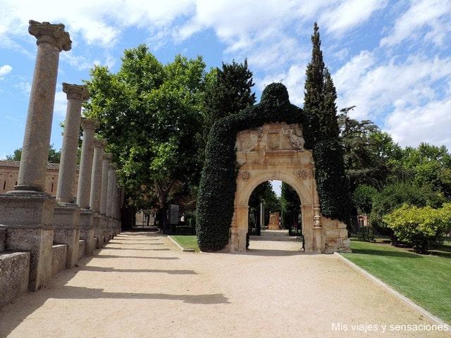 Ruinas del convento de San Jerónimo, Parque del Castillo de Zamora