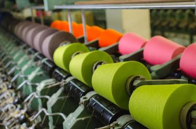 Colorful Textile Yarn
