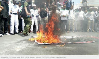 Gawat ! FPI Nyatakan Akan Demo Besar dan Perang Jika RUU HIP Dilanjutkan