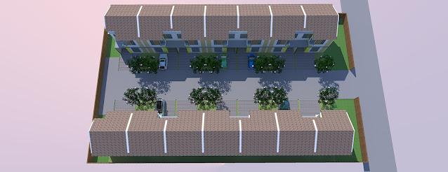 gambar site plan perumahan