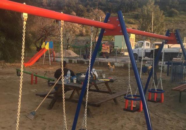 Ξεκίνησε η κατασκευή παιδικών χαρών στο Δήμο Ερμιονίδας