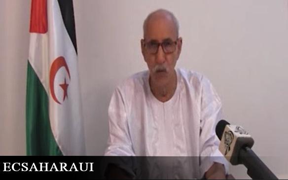 El presidente de la República Saharaui, Brahim Ghali, reaparece en acto oficial tras más de cuatro meses de ausencia por la COVID-19.