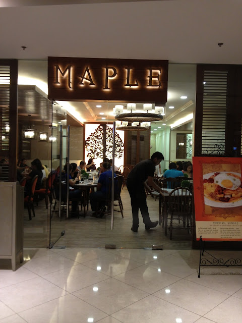 Maple, Shangri-La Plaza Mall