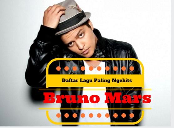 [advertorial] Daftar Lagu Paling Ngehits Bruno Mars