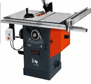 sierra de mesa industrial