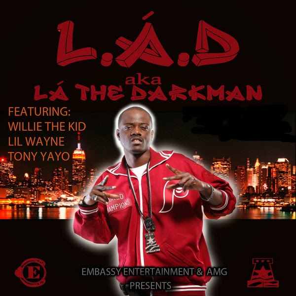 LAD aka La The Darkman - L.A.D Cover