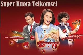 Cara Aktifkan Paket Promo Super Kuota Telkomsel