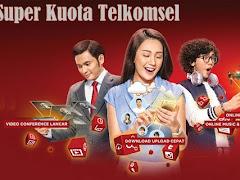 Cara Aktifkan Paket Promo Super Kuota Telkomsel (1, 3, 5, dan 8 GB)