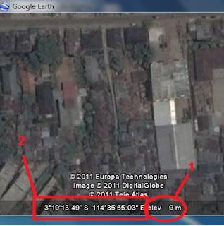 Mengetahui Elevasi Ketinggian Suatu Tempat di Google Earth