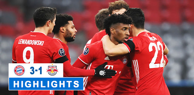 Bayern München vs Salzburg – Highlights