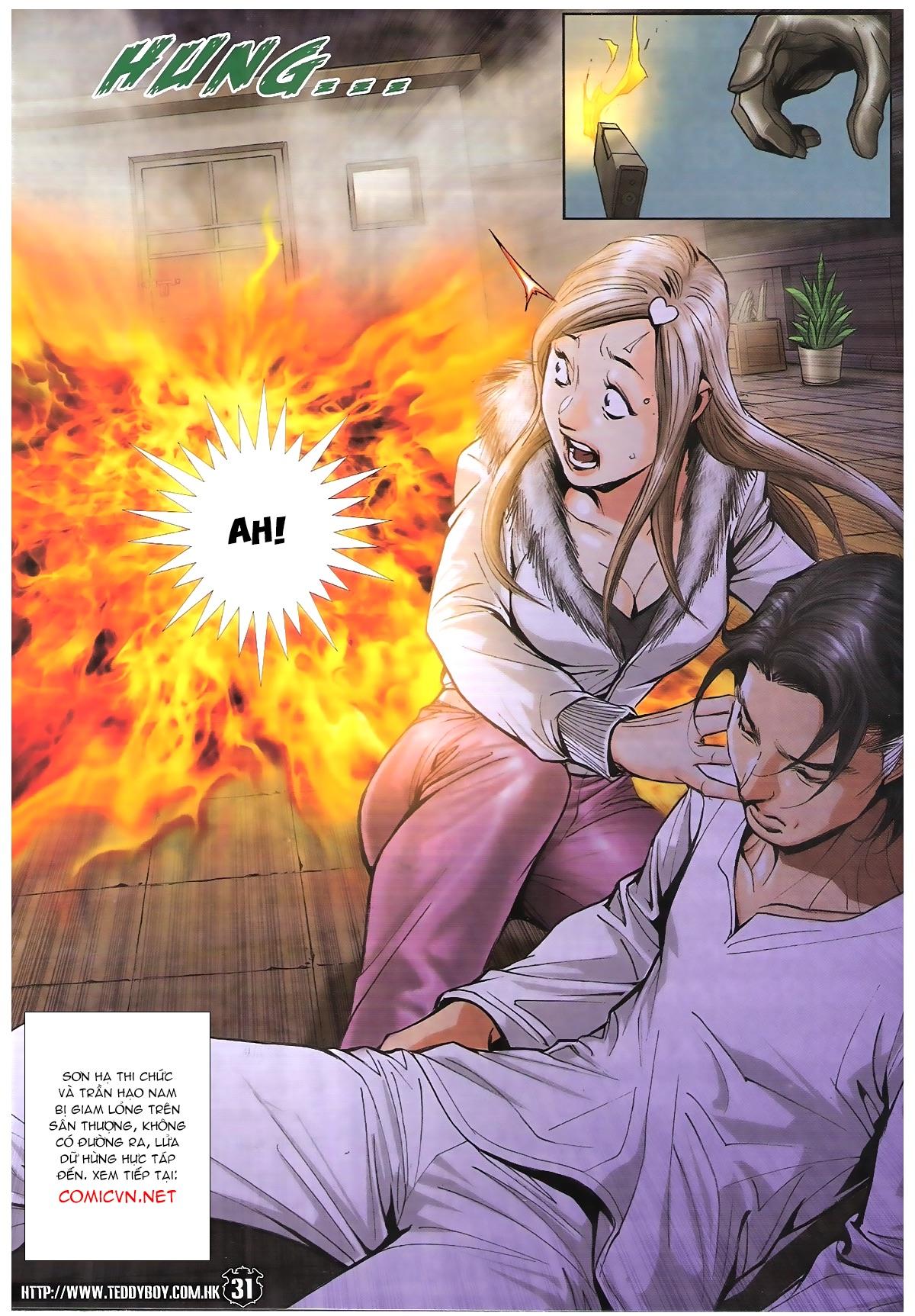Người Trong Giang Hồ chapter 1787: hỏa thiêu trần hạo nam trang 29