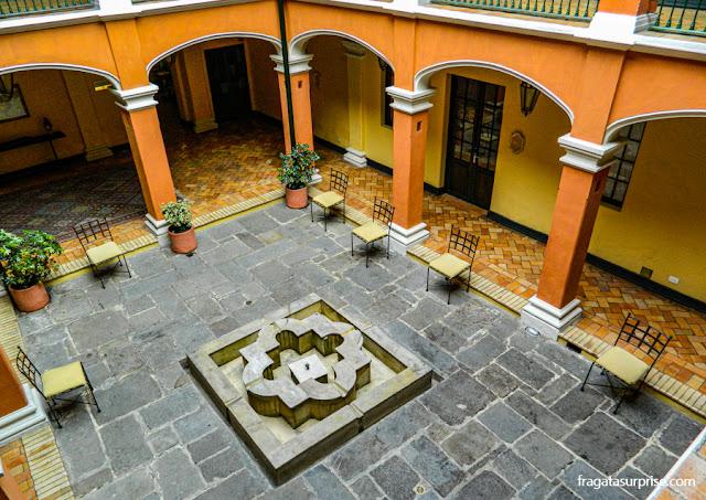Hospedagem em Bogotá, Colômbia - Hotel de la Ópera, bairro de La Candelaria