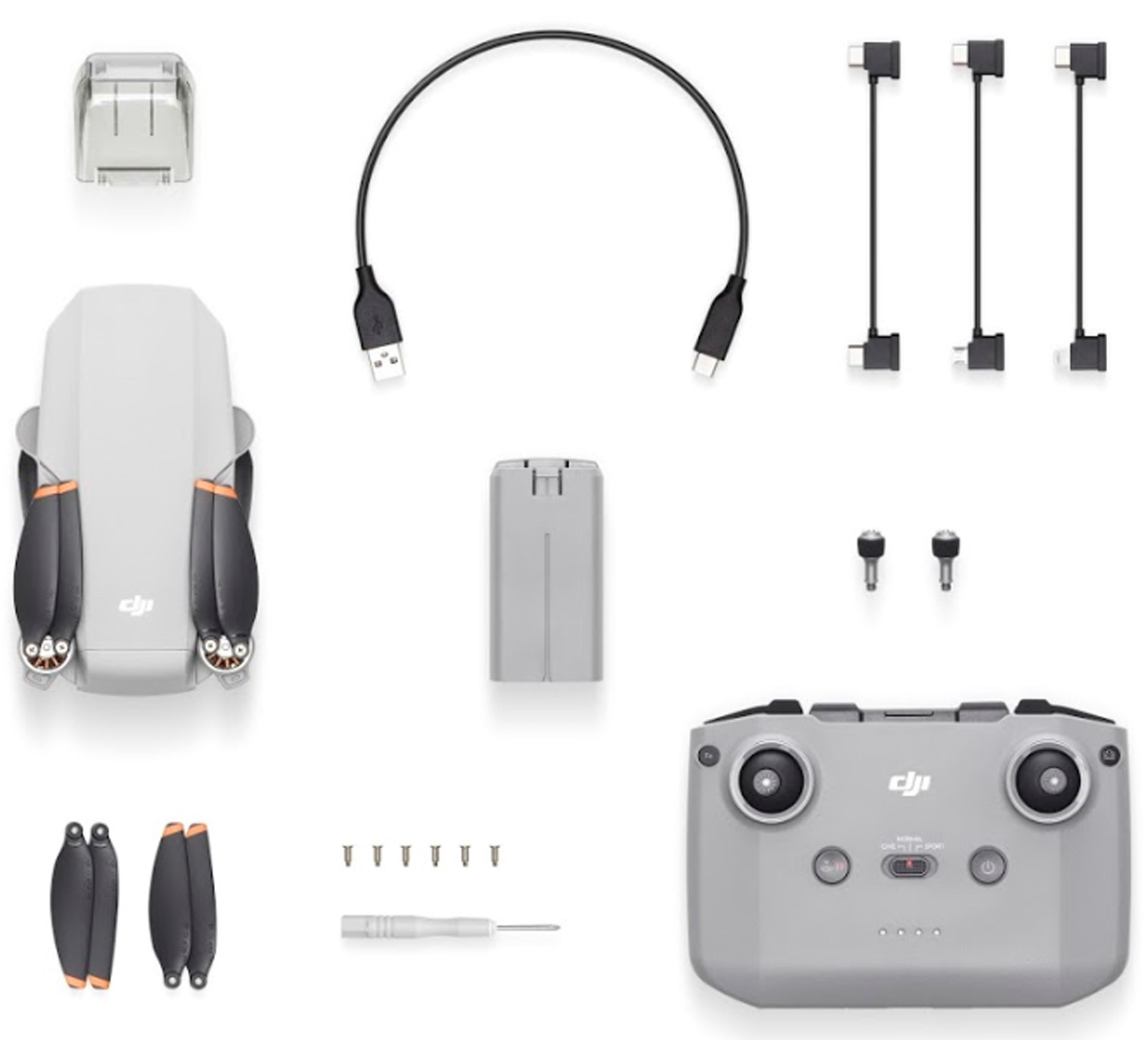 Комплектация дрона DJI Mini SE