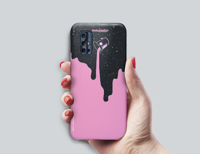 Mockup Custom Case 3D VIVO V19