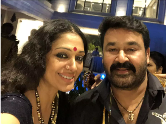 Actress Shobhana  is happy to hear her next movie with Mohanlal