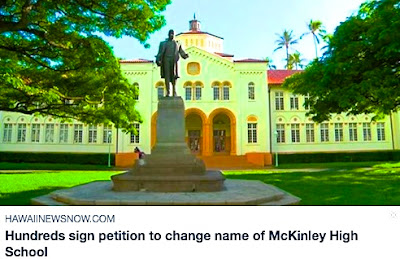 https://www.hawaiinewsnow.com/story/30007008/hundreds-sign-petition-to-change-name-of-mckinley-high-school/