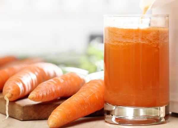 Benefits of carrot juice for skin