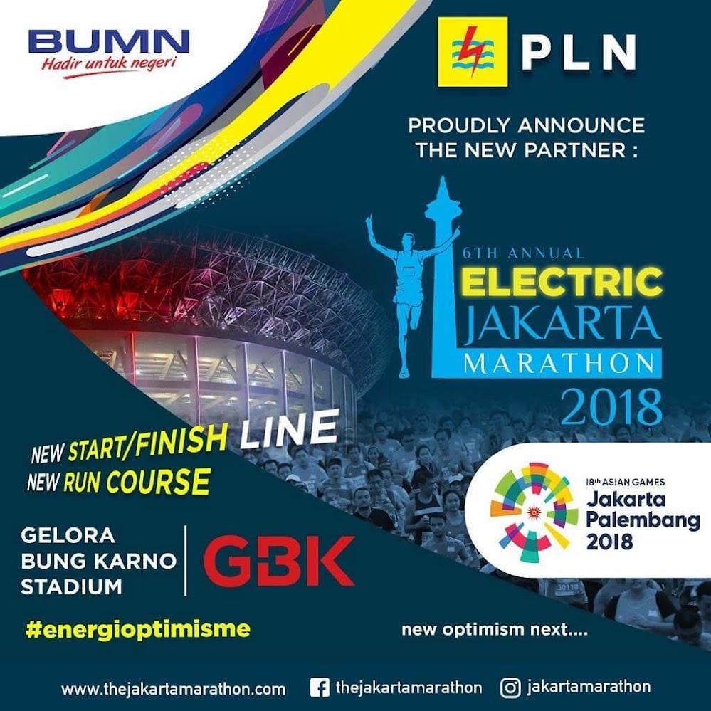 Electric Jakarta Marathon • 2018