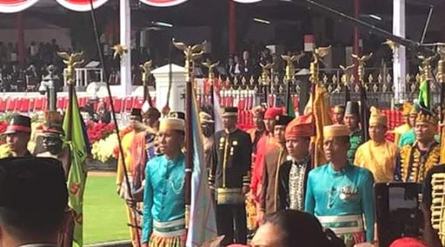 Rombongan Kerajaan Bone, Sukseskan Festival Keraton Nusantara 2019