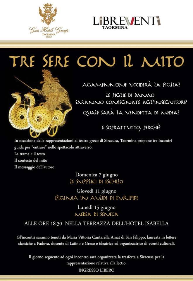 Da Taormina A Siracusa Le Tragedie Greche Di Eschilo