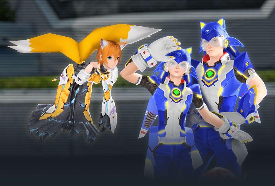 Phantasy Star Online 2 - sonic collab