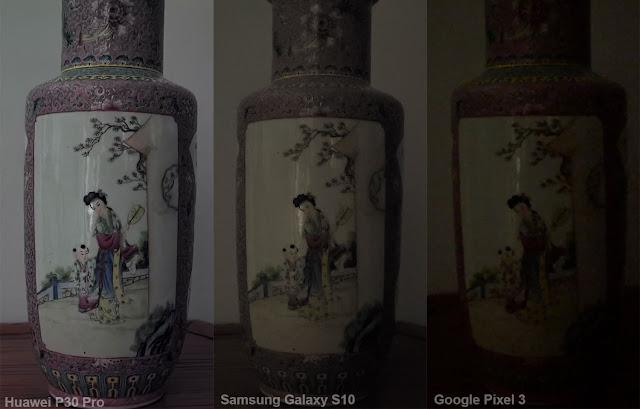 Samsung Galaxy S10 Plus kıyaslama