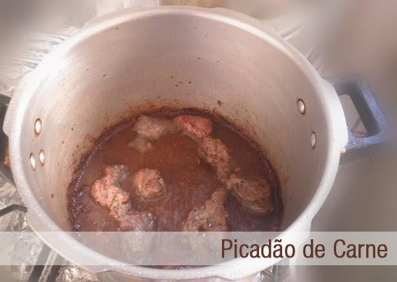 Picadão de Carne Cozinha do Quintal