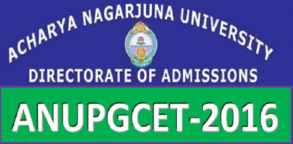 ANUPGCET 2016, hall tickets, Exam dates