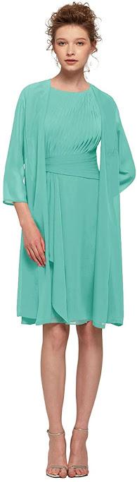 Cheap Short Knee Length Mother of The Groom Dresses