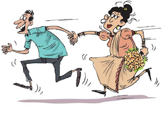 man who eloped with bride