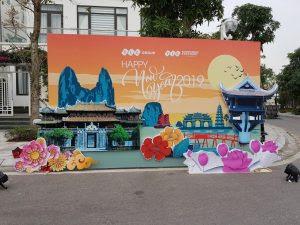 Trang trí backdrop chương trình Count Down – FLC Sầm Sơn