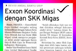 Exxon Coordinates with SKK Migas