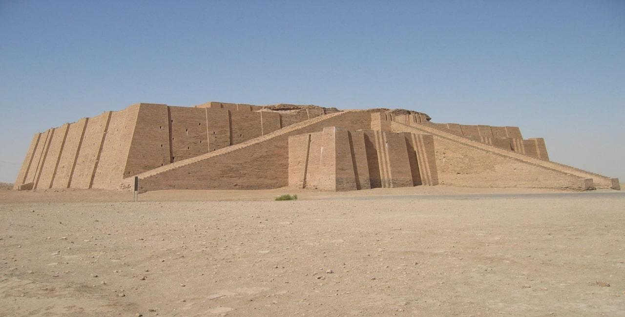 zigurat de ur mesopotamia