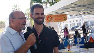 Ο πρόεδρος τριτέκνων Μανώλης Αχλαδιανάκης