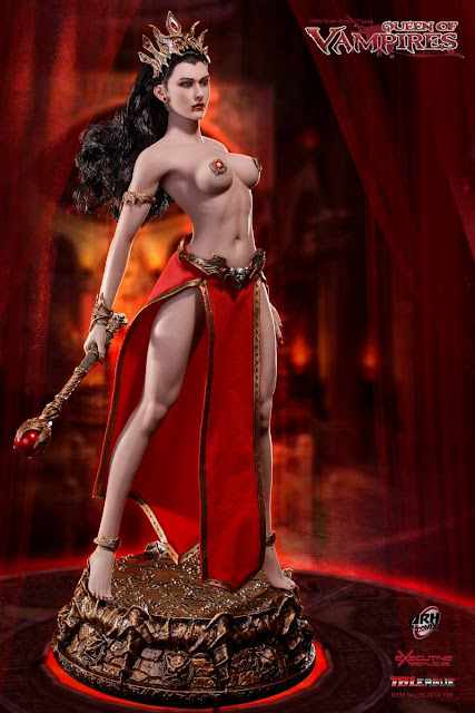 osw.zone Preview TBLeague 1/6 Arhalla Queen of the Vampire Figure, the immortal Queen of Ur