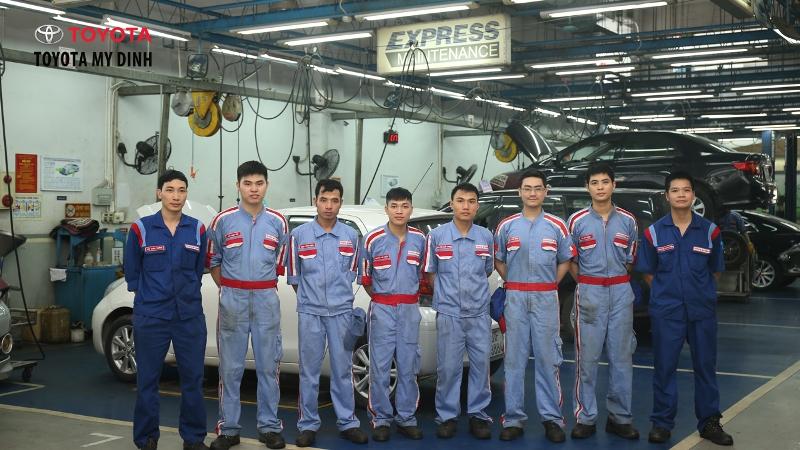 Mẫu đồng phục công nhân bảo trì của hãng