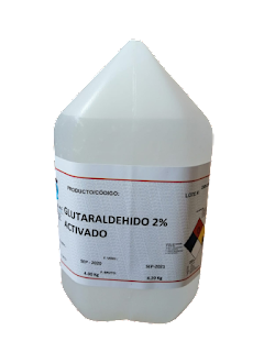 Desinfectante a base de glutaraldehido
