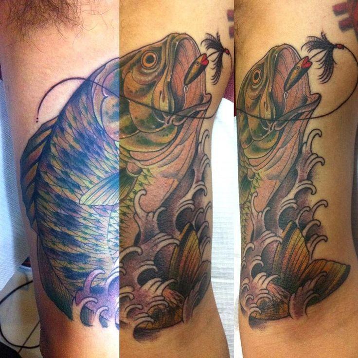 tatuajes de anzuelos para peces