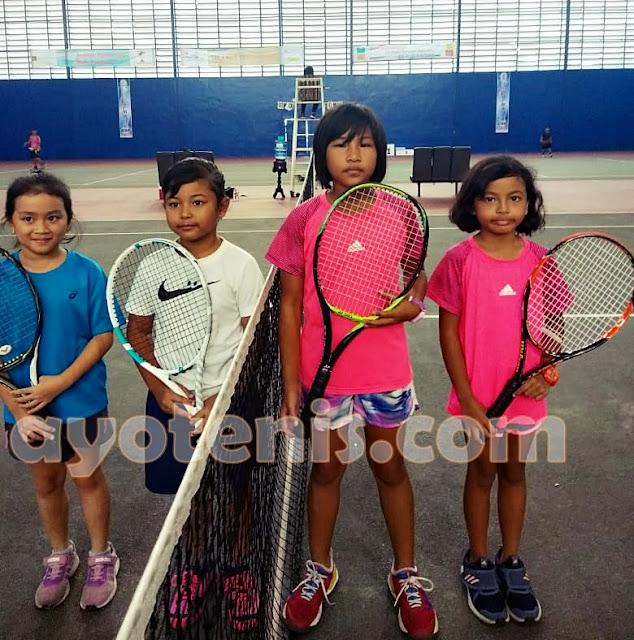 Noya Myeisha dan Johanna Neysa Gapai Final Kejurnas Tenis Yunior New Armada Cup XXIV